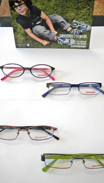 Converse Frames at Bluegrass Family Vision