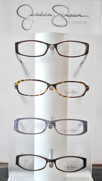 Jessica Simpson Frames at Bluegrass Family Vision