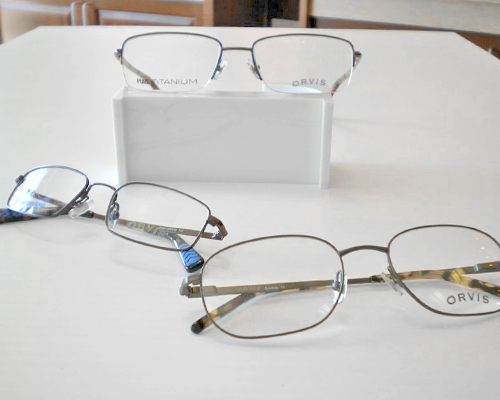 Orvis Frames at Bluegrass Family Vision